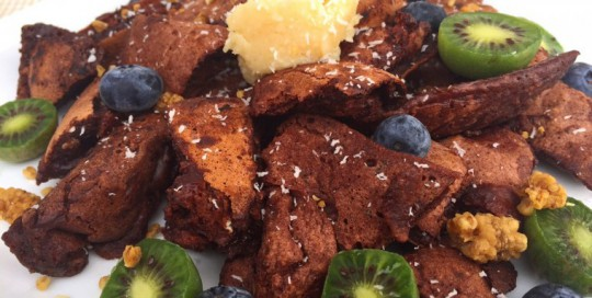 Healthy Chocolate Chunk Kaiserschmarrn