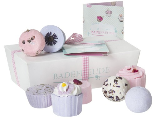 Badesalze Cupcake