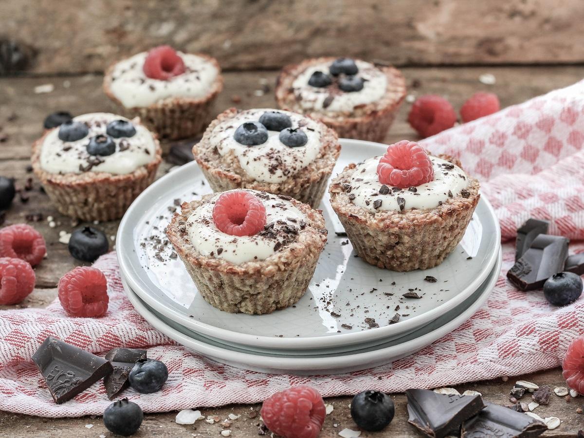 Haferflocken Muffins mit Beeren 1 1200x900