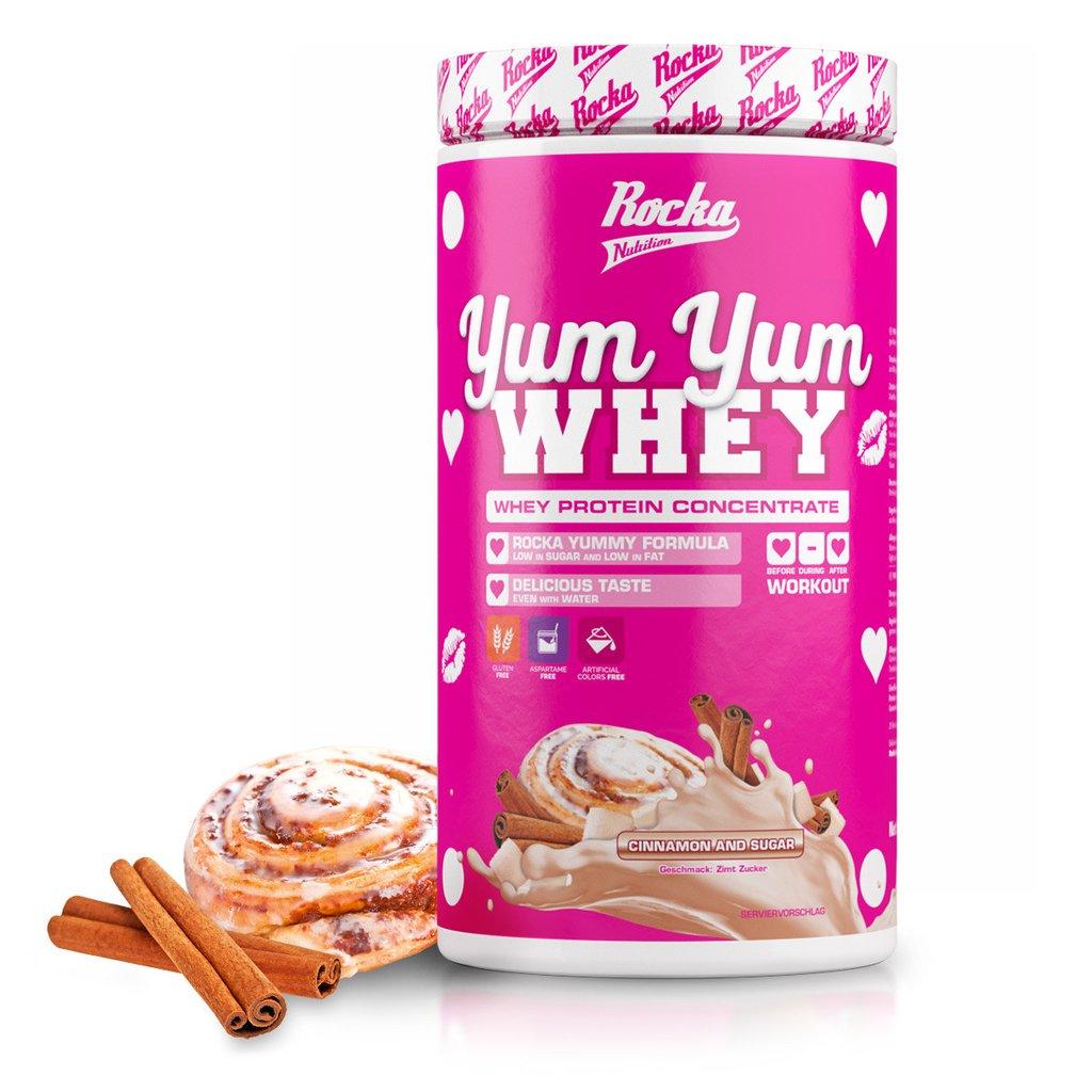 Rocka Nutrition YumYum Whey, Whey, Proteinpulver, Rocka Nutrition, YumYum Whey, Cinnamon & Sugar