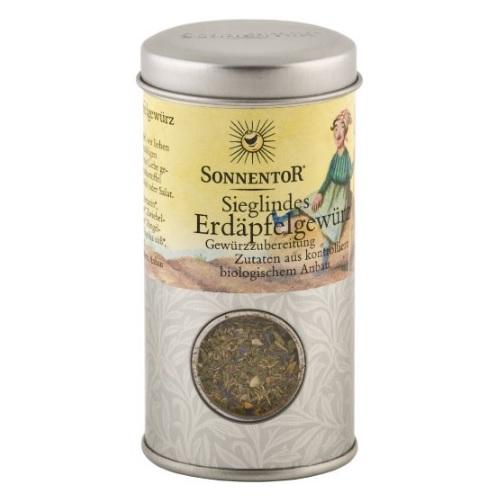 Sonnentor Sieglindes Erdäpfelgewürz Streudose, 1er Pack (1 x 22 g) - Bio