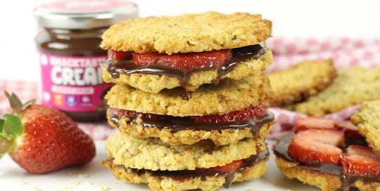 Haferflocken, Cookies, Smacktastic, Erdbeeren, Bake, Cook, Back, Cook, Rocka, Nutrition, Cream, Birkenzucker, Xucker, Butter, Nährwerte, Rezept, Zutaten