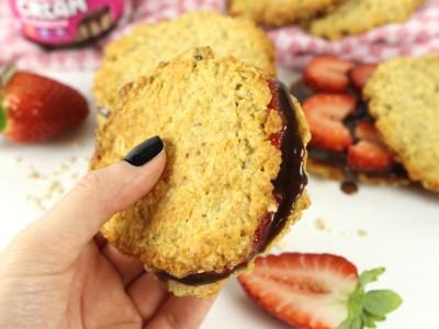 Hafercookies, Smacktastic, Haferflocken, Cookies, Erdbeeren, Bake, Cook, Back & Cook, Rocka Nutrition, Cream, Birkenzucker, Xucker, Butter, Nährwerte, Rezept, Zutaten