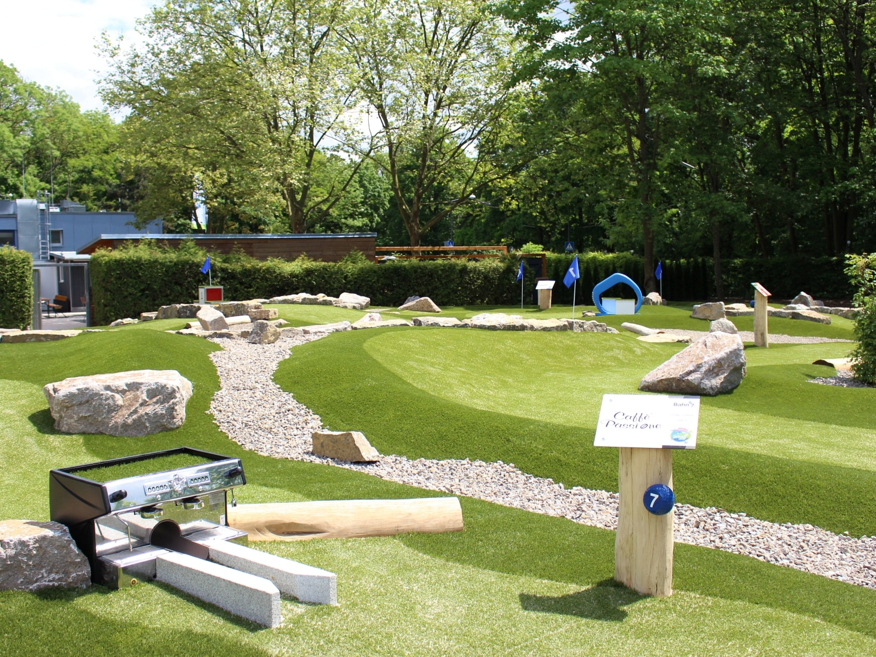 golfpark würzburg SVW 05, Minigolf,