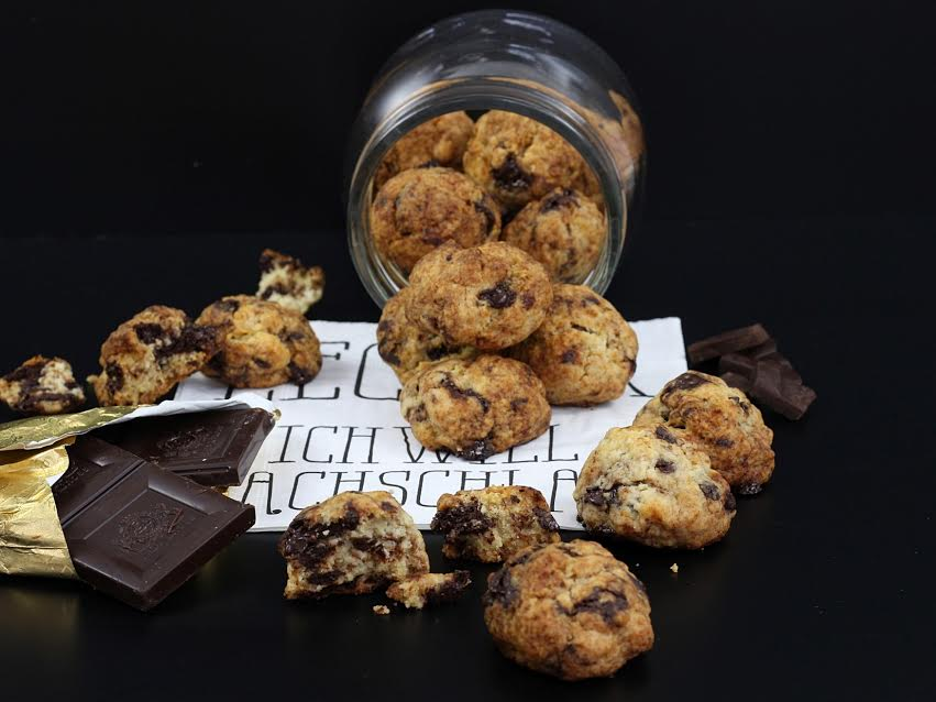 Vegane Chocolate Chip Cookies