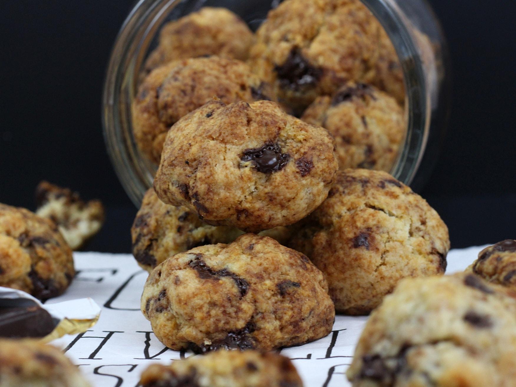 Vegane Chocolate Chip Cookies5