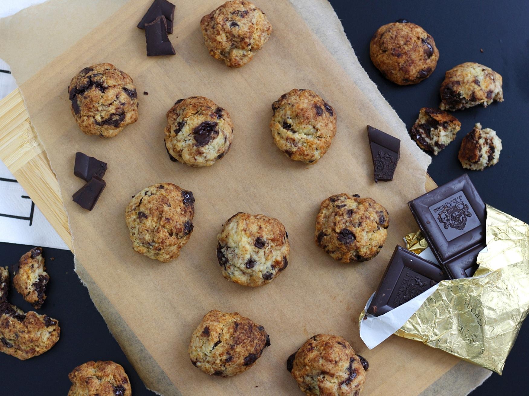 Vegane Chocolate Chip Cookies9