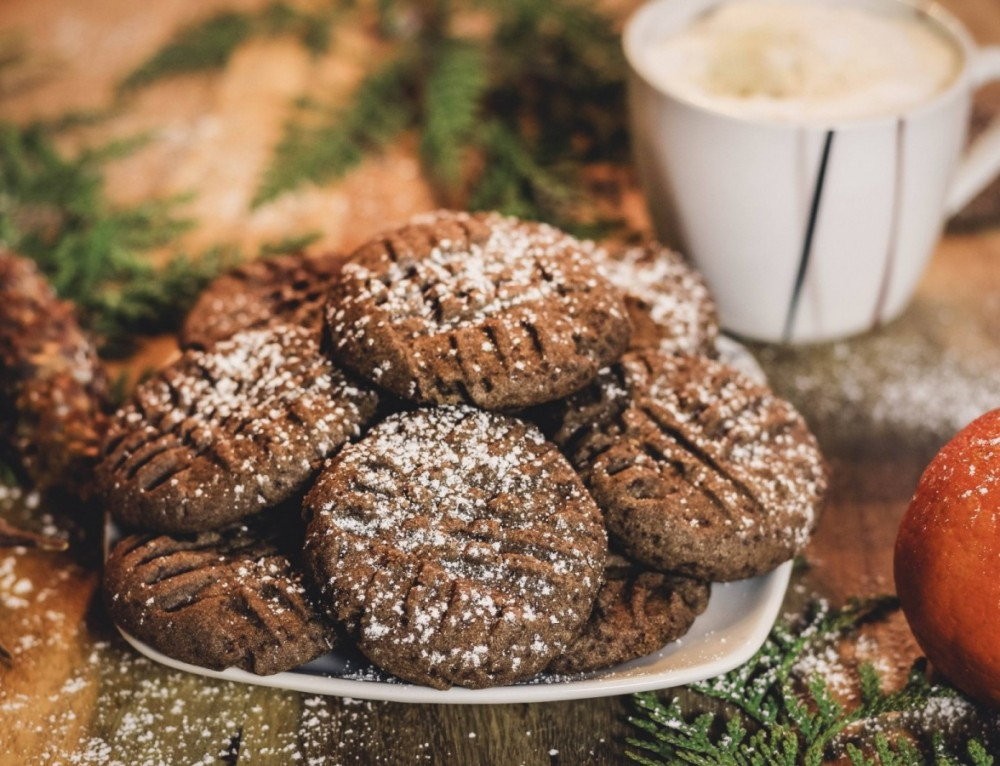 Vegane Schoko Puddingplätzchen