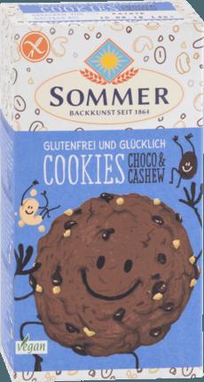 SOMMER Cookies mit Choco & Cashew