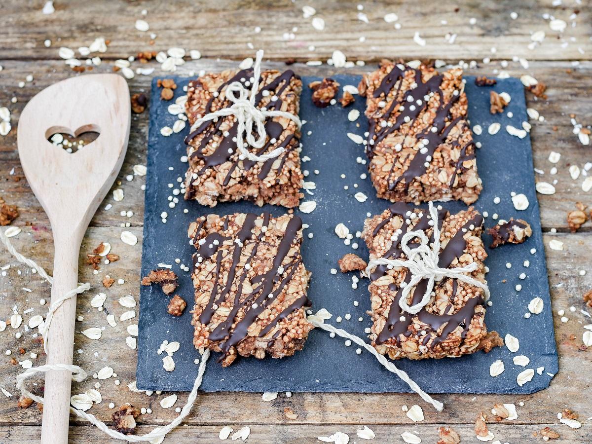 Quinoa Müsli Riegel 1